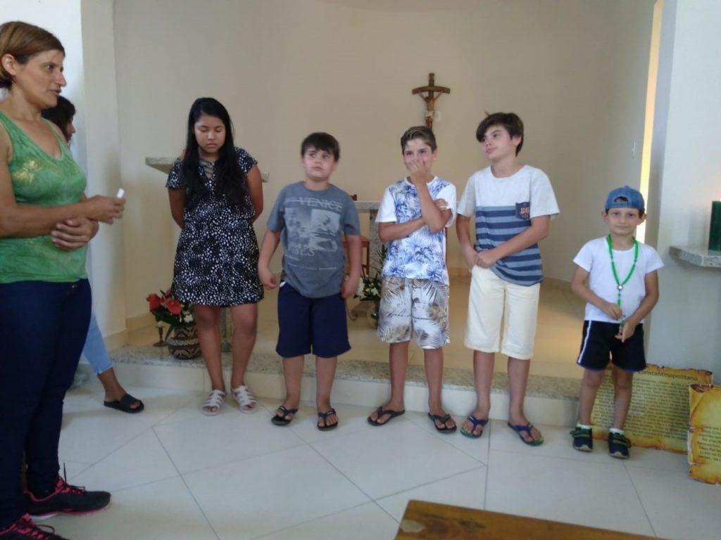 Entrega do Creio – Comunidade NS da Conceição